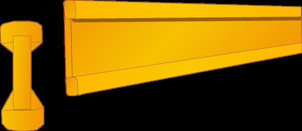 Holzschalungsträger 3,90 m